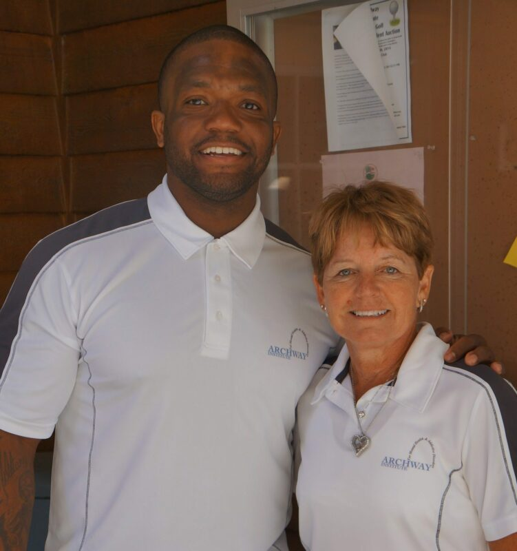 jan-stuckey-welcomes-maurice-clarett-to-the-archway-team