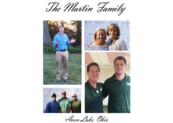 Martin Family, ARCHway Institute Hope Fund Sponsor