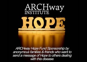 ARCHway Hope Sponsorship by Anonymous Donors