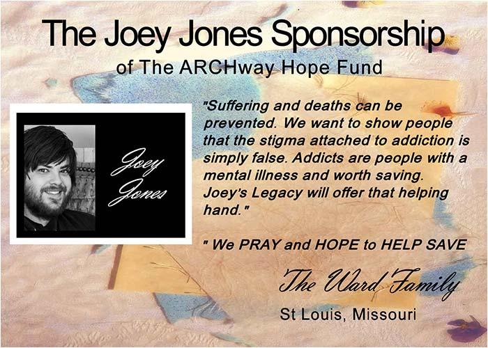 The Joey Jones Sponsorship