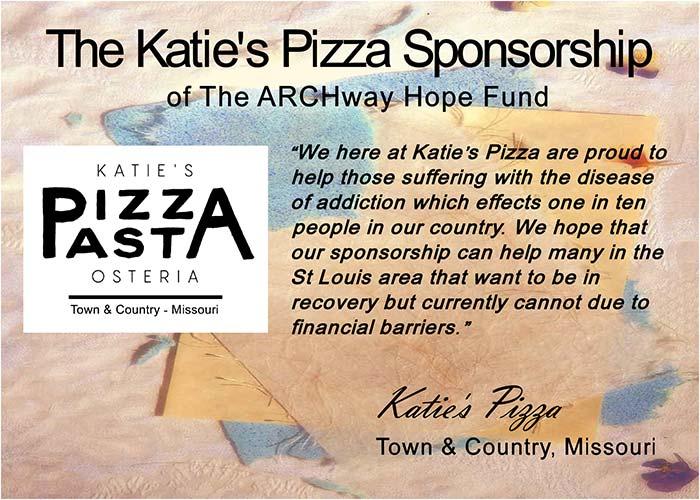 The Katie's Pizza Sponsorship