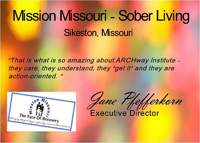 Mission Missouri – Sober Living