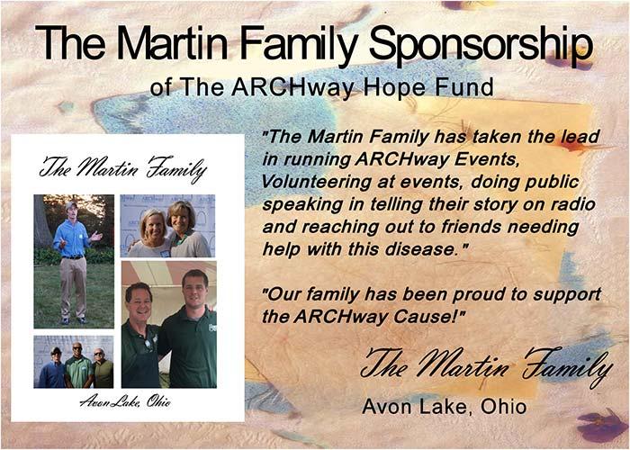 The Martin Family Sponsorship