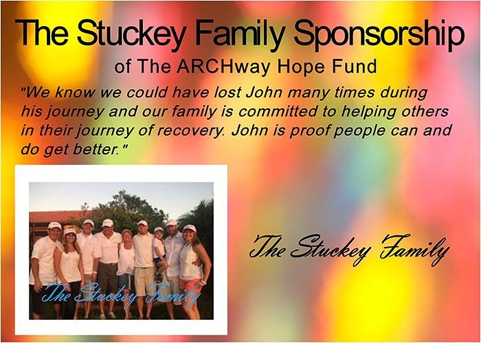 The Stuckey Family Sponsorship