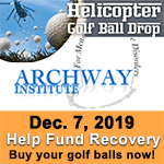 12/7 - Helicopter Golf Ball Drop - Buy your golf balls now!