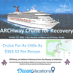 ARCHway Cruise for Recovery