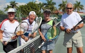 ARCHway Institute Punta Gorda fundraiser: tennis players