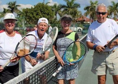 ARCHway Institute Punta Gorda fundraiser: tennis players