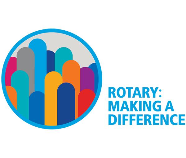 Logo for Chapel Hill Carrboro Sunrise Rotary Club, North Carolina. A Hope Fund Sponsor.