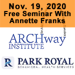 November 19, 2020 Free Sminar at Park Royal Hospital