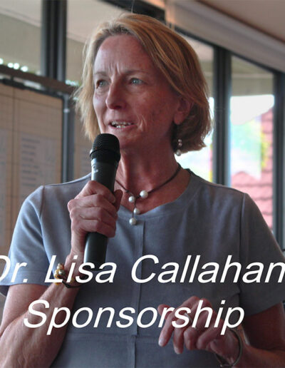 ARCHway Institute, Dr. Lisa Callahan, Hope Fund Sponsor