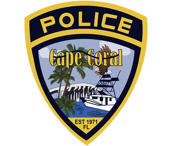 Cape Coral Police Department Logo, Bronze Sponsor of the ARCHway Institute