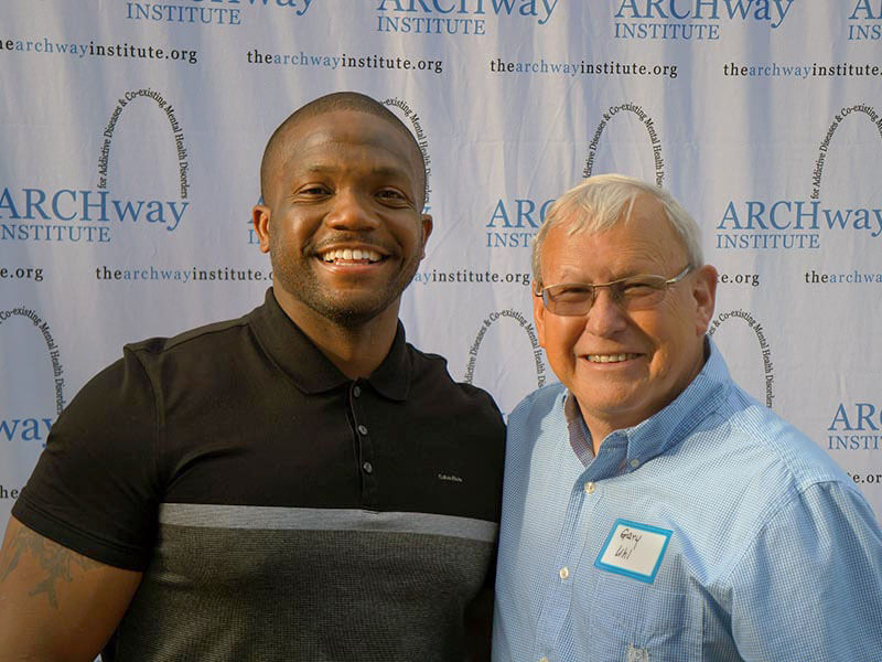Maurice Clarett, Speaking at an ARCHway Fundraising Event