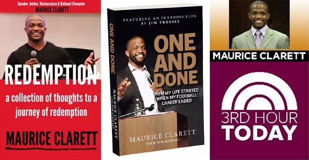 Maurice Clarett, books, 3rd Hour Today Show