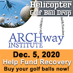ARCHway Institute Golf Ball Drop 2020