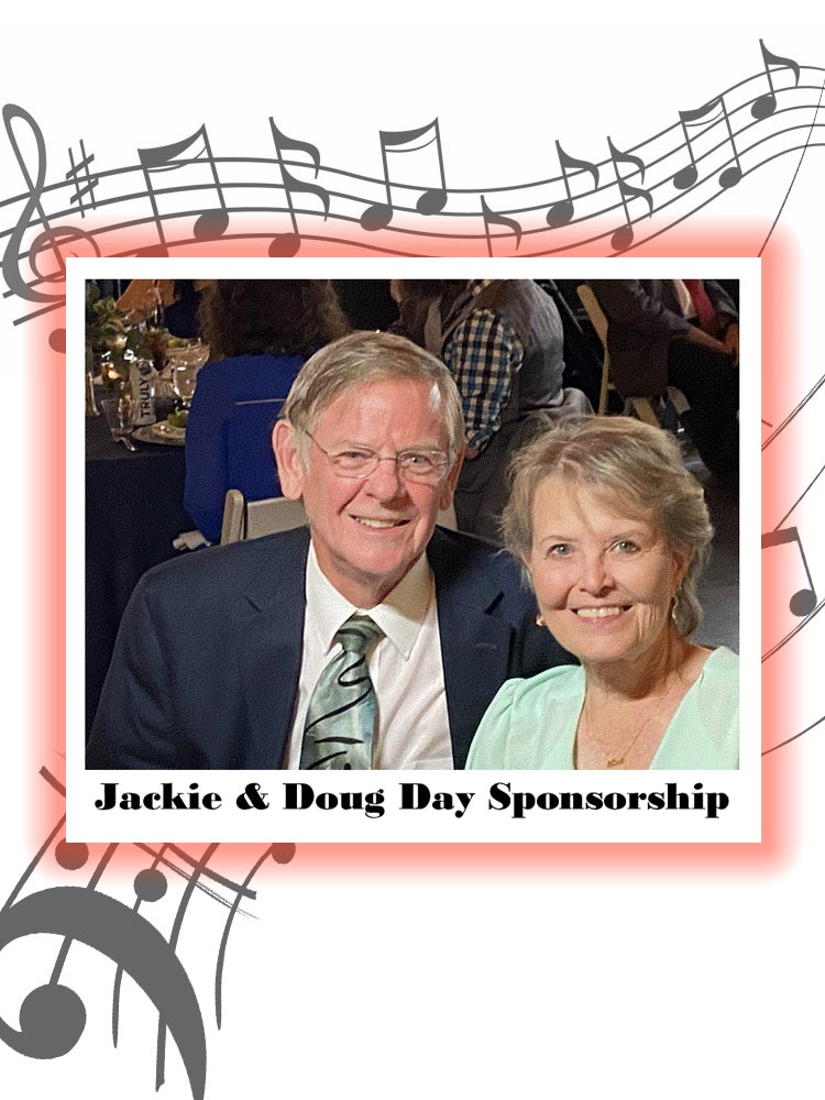 Jackie & Doug DayRecovery House sponsors the ARCHway Concert Series