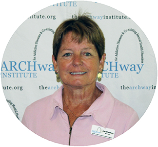 Jan Stuckey, ARCHway Secretary & Caregiver
