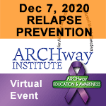 December Virtual Education & Awareness Event: Relapse Prevention during the Holiday