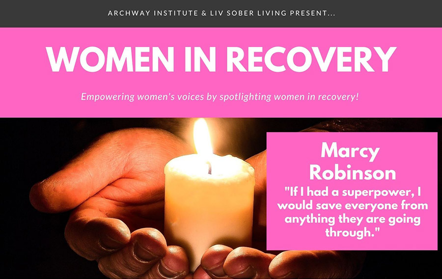 Marcy's Recovery Story for ARCHway