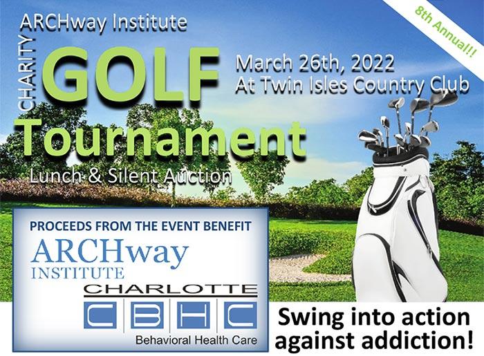ARCHway Institute 2022 Florida Golf Tournament banner