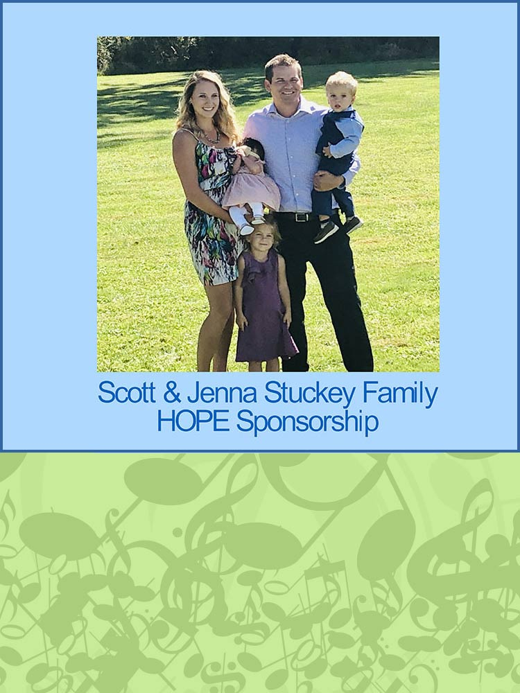 Scott & Jenna Stuckey Hope Fund Sponsors the ARCHway Concert Series